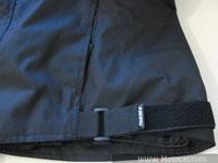 ajuste na cintura da jaqueta sbk v6