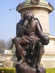 The Gower Memorial - Hamlet Statue in Stratford upon Avon