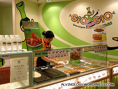 GioGio food kiosk