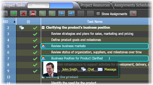 Business collaboration - real-time collaborative editing