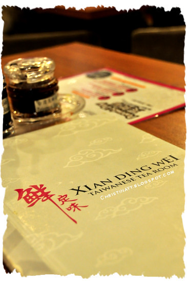 Queensbay Mall: Xian Ding Wei Taiwanese Tea Room (鲜定味台湾料理)