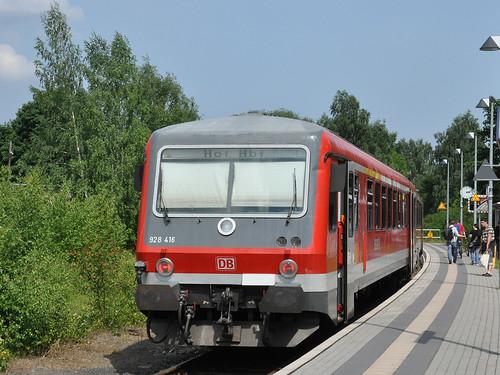 928 416 am Endpunkt Selb Stadt.