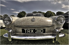 VW Fastback (Andy Kent 100) Tags: old fish eye andy car festival vw canon kent angle 10 baloon balloon wide rusty sigma photographic fisheye 20mm 20 society 1020 crusty hdr fastback 10mm evesham voltswagon 2011 bromsgrove 450d phtographic akphotographic wwwakphotographiccouk andykent100 trx311d