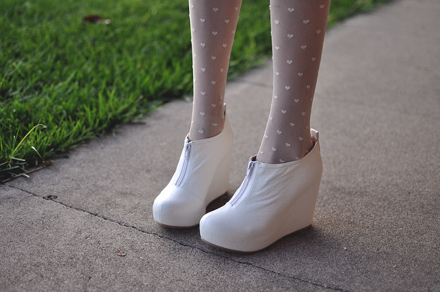 Jeffrey Campbell 99 in white