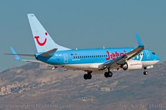 OO-JAS, Jetairfly, Boeing 737-7K5(WL) - cn 35144. (dahlaviation.com Thanks for over 1 !! million view) Tags: airplane aircraft aviation airplanes athens greece boeing spotting 737 aircrafts ath lgav jetairfly