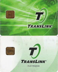 Translink Cards - Current and Past