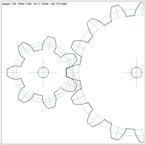 da Vinci\'s Kinematic Mechanisms: Gear generator