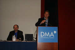 Lee Odden Joking at DMA07