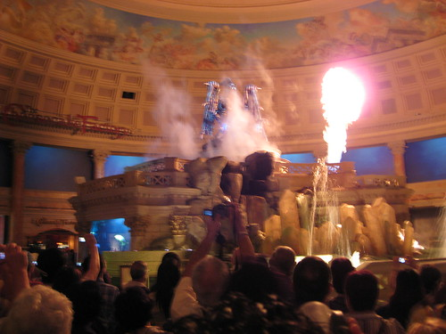 Spettacolo al Caesars Palace