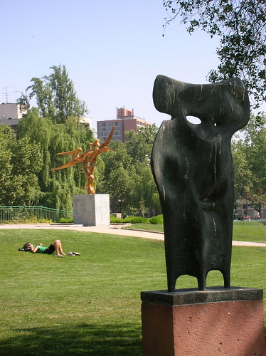 Esculturas en la ciudad