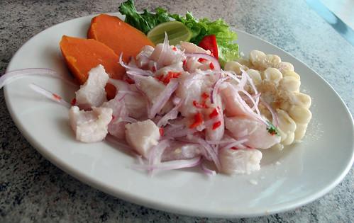 Ceviche de pescado y Ceviche mixto mmm q rico¡¡¡