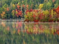 Cool October Morning (Nancy Rose) Tags: morning autumn mist lake reflections the naturesfinest blueribbonwinner mywinners platinumphoto anawesomeshot superbmasterpiece diamondclassphotographer flickrdiamond amazingamateur excellentphotographer naturewatching unforgettablepictures