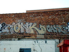 Monk Caype floaters (BruceLabounty802) Tags: nyc brooklyn graffiti monkey construction floaters phonoh cayper