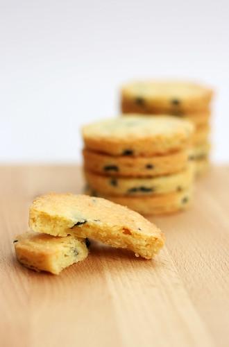 La ciliegina sulla torta: Sablés aux olives noires