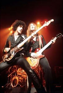 Phil Lynnot y Scott Gorham