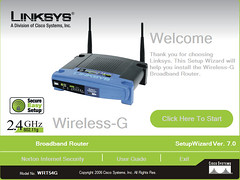 ROUTER SETUP GUIDE. The Linksys Wi-Fi router comes with a CD