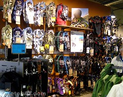 Trade some of these snowshoes for some Dynafits