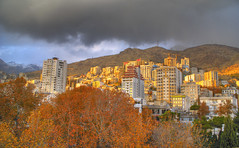 Mountainous Apartments in Autumn, Tehran, Persia (Iran), November 2007 (eshare) Tags: mountains landscape persian iran persia iranian tehran ایران hdr highdynamicrange copyrightinfringement iranians teheran persians تهران photomatix البرز alborzmountains tthdr sonyalphaa100 sonyalphadslra100 sonydslra100 sal1870 shemiran طهران شمیران alobrz رشتهجبالالبرز 07xp prstolen copyright:status=infringed