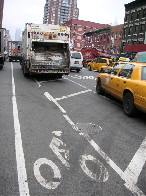 NYC bike lanes