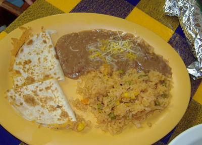 Tacos Ensenada - Quesadilla Kid's Platter