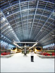 Eurostar (edwardkb) Tags: england london art architecture europe eurostar rail railway international trainstation stpancras transprt ruvjet aplusphoto 186mph edwardbarnieh