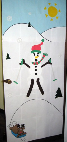 Door Decorating Contest Winner (front)