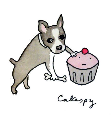 Dog and Cupcake