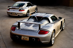 Porsche Carrera GT and 911 GT2 (996) (Desert-Motors Automotive Photography) Tags: arizona cars phoenix 911 automotive porsche scottsdale gt gt2 carrera 996