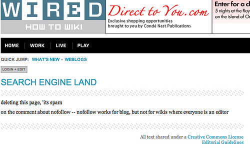 Get A Free Link From Wired - Search Engine Land
