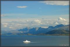 ... ferry from Bognes (nigel_xf) Tags: norway nikon d70s norwegen nikond70s nigel lofoten lødingen lodingen nigelxf