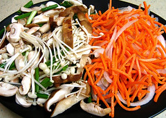 Steamy Kitchen's Jap Chae 5 - Tweaked (stickygooeychef) Tags: food cooking noodles recipes asianfood