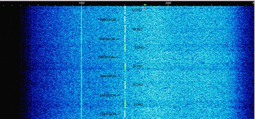 MoonEcho 6.7925 MHz 19Jan08 0015z