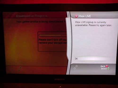 XBOX Live has FAIL