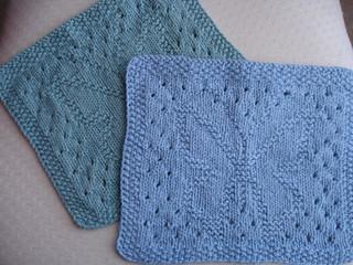 Ravelry: Lacy Butterfly Dishcloth pattern by Rachel van Schie