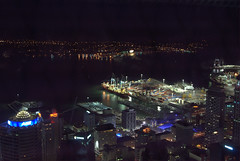 nightscape from Sky Tower