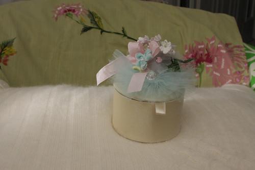 petite boite de bouquet