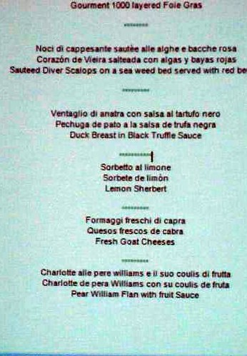 menu finale europei sommelier
