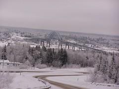 Frosty morning (SamuelInch) Tags: bridge storm ice centennial frost miramichi nbphoto
