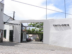 Entrance to Taylor's in Porto