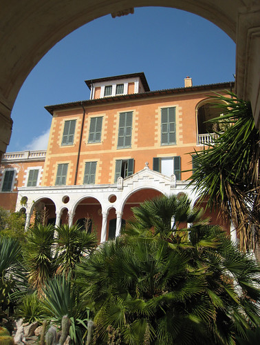 Villa at Hanbury Garden Italy