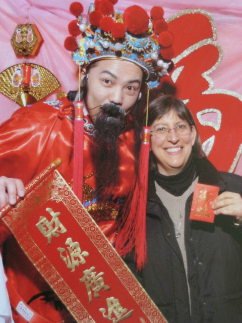 Chinatown: SJ Rozan with the God of Wealth