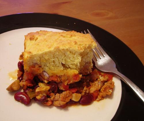 tamale pie middot; seared yellowtail
