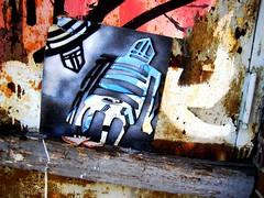 Lower East Side Street Art (LoisInWonderland) Tags: newyorkcity streetart graffiti stickman lowereastside urbanart stikman