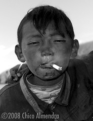 Nomad Orphan (a.k.a. Six-Year-Old Man) (Chico Almendra) Tags: china trip boy bw lake kids youth children kid asia child cigarette smoke cancer documentary pb kinder tibet smoking orphan teen nomad tibetan smoker namtso tabak snot sigaret underage raucher tabacco zigarette fumo rauchen fumare kippe nikotin lungenkrebs tutun childrensmoking smokingkids fumeaza kinderrauchen