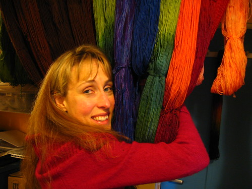 Wendee a.k.a. the Color Maven of Hazelknits