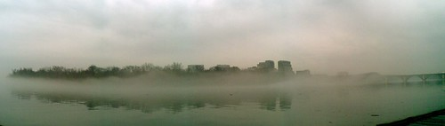 Foggy Potomac - Panorama
