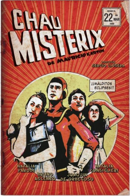 Afiche Misterix