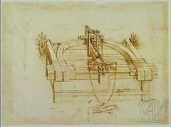 F160r-B-Codex Atlanticus-Lanzador de piedras-Biblioteca Ambrosiana