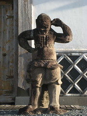 statue at Miyakonojo History Museum