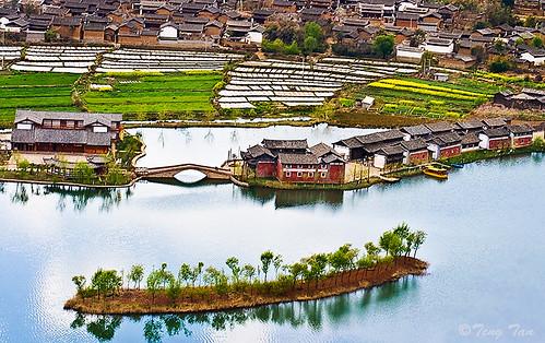 b0443 Yunnan Village